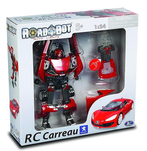 Робот - трансформер Galaxy Defender Pegeout Carreau со светом, масштаб 1:24