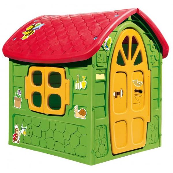 Игровой домик с окошком и дверьюПластиковые домики для дачи<br>Игровой домик с окошком и дверью<br>