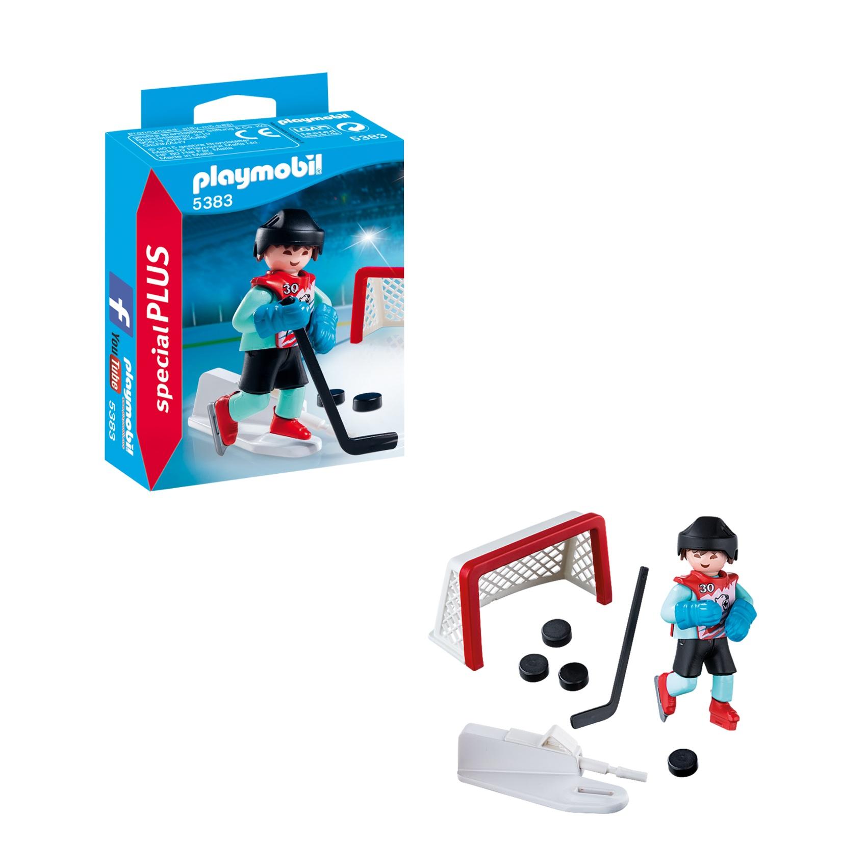 Купить Экстра-набор: Тренировка хоккей, Playmobil