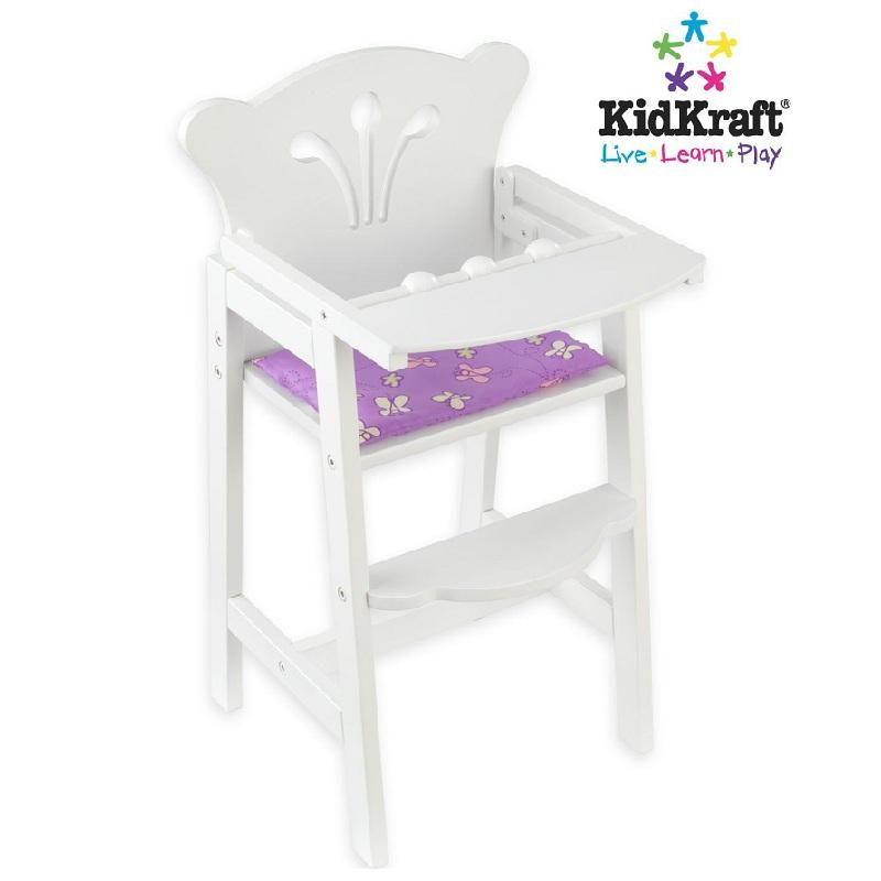 Купить Кукольный стульчик для кормления, KidKraft