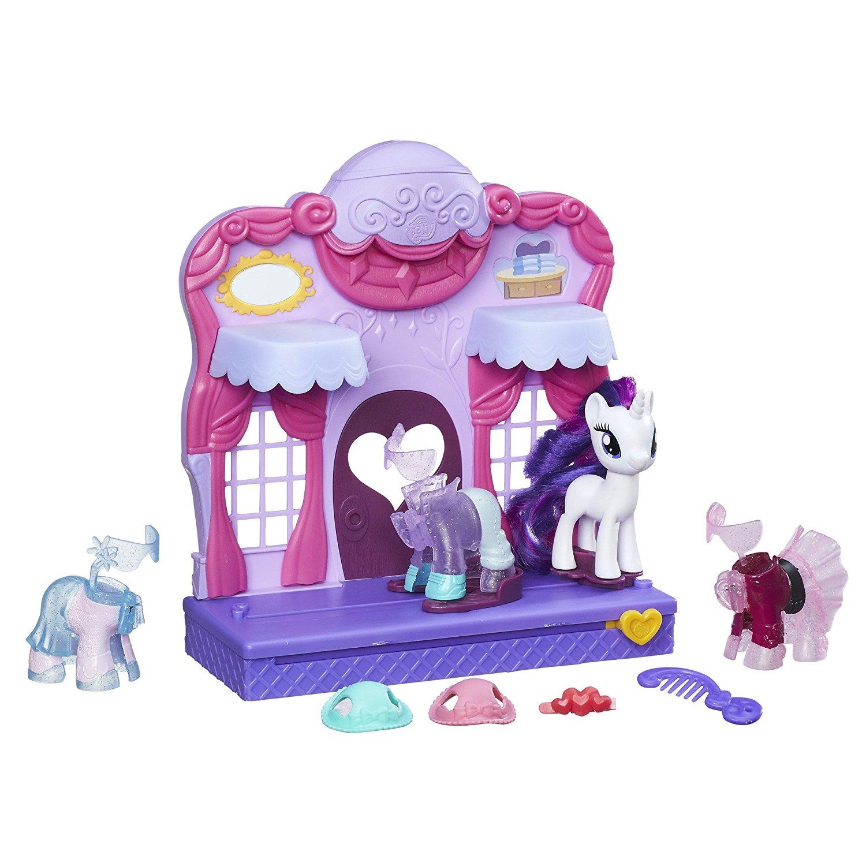 Игровой набор My Little Pony - Бутик Рарити в КантерлотеМоя маленькая пони (My Little Pony)<br>Игровой набор My Little Pony - Бутик Рарити в Кантерлоте<br>