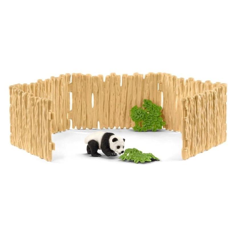 Купить Набор - Загон для панды, Schleich