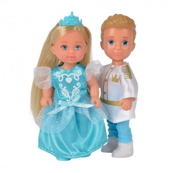 Куклы Тимми и Еви - принц и принцесса, 12 см.Куклы Еви<br>Куклы Тимми и Еви - принц и принцесса, 12 см.<br>