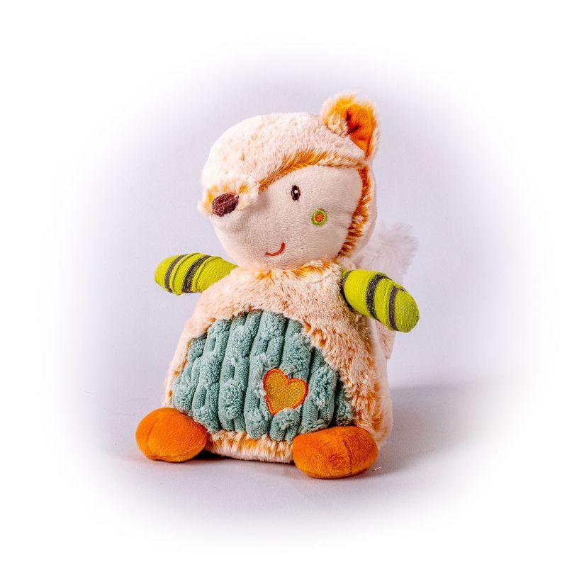 Мягкая игрушка - Лисичка цветная, 17 см. Gulliver