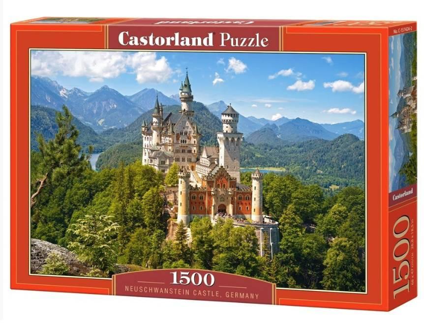 Пазл Castorland 1500 деталей, НойшванштайнПазлы<br>Пазл Castorland 1500 деталей, Нойшванштайн<br>
