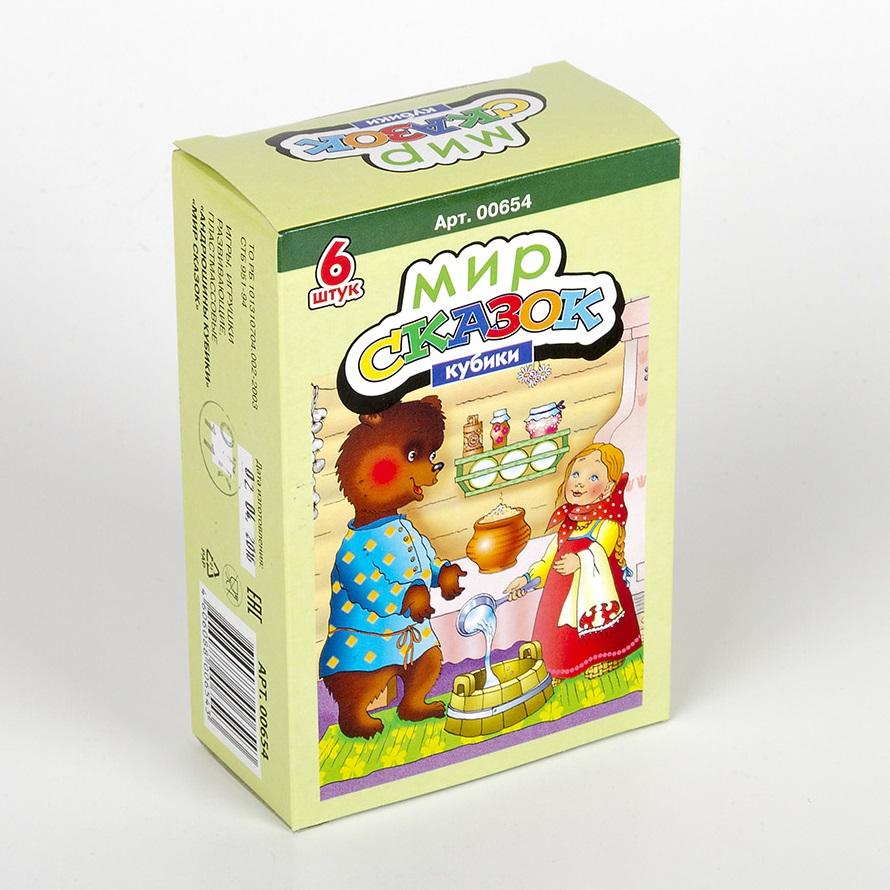 Купить Кубики Мир сказок-1, 6 шт., Десятое королевство