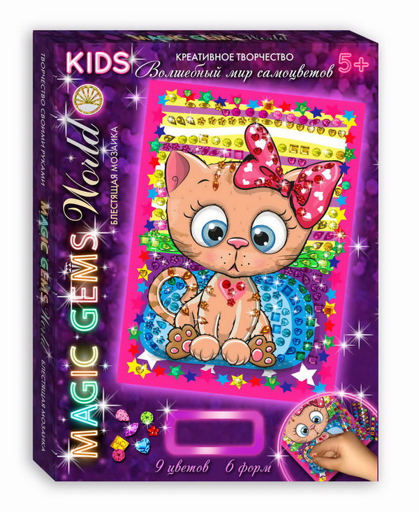 Мозаика из серии Magic Gems Котенок по цене 274