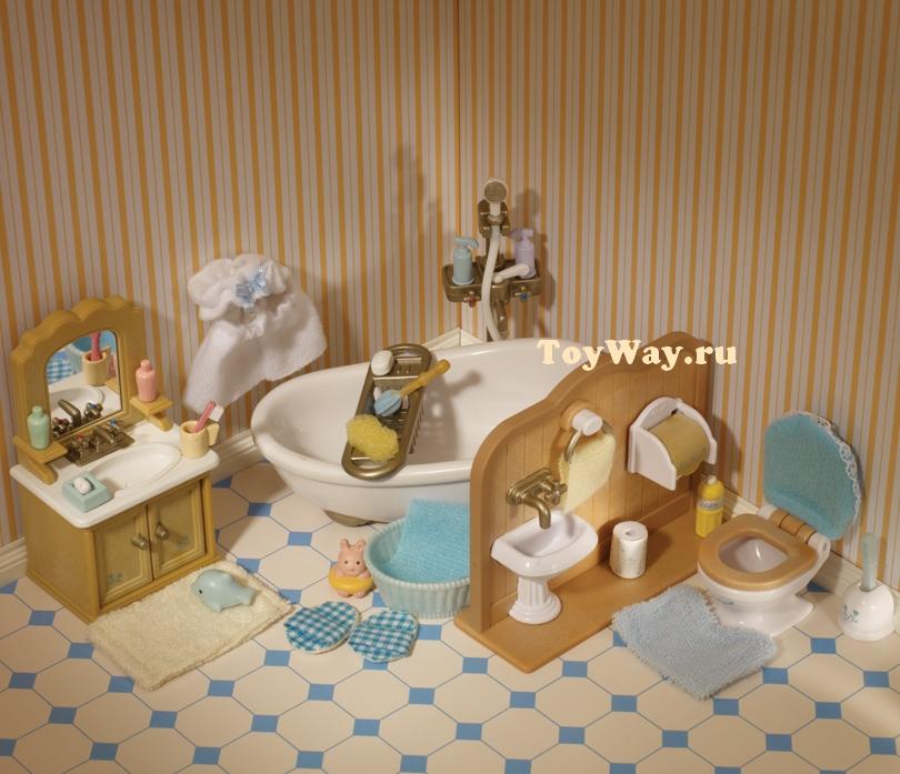 Sylvanian Families - Ванная комнатаМебель<br>Sylvanian Families - Ванная комната<br>