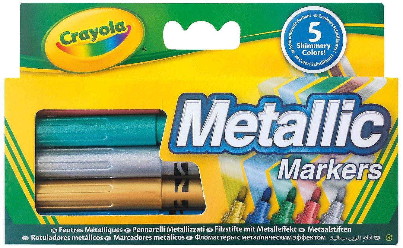 Набор фломастеров цвета металликФломастеры<br>Набор фломастеров цвета металлик<br>