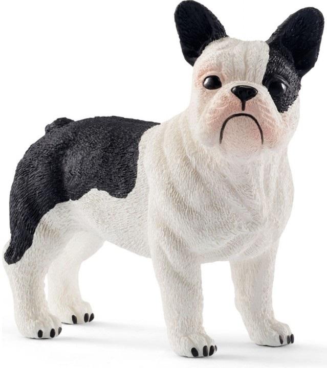 Купить со скидкой Фигурка собаки - Французский бульдог, размер 5 х 2 х 4 см.