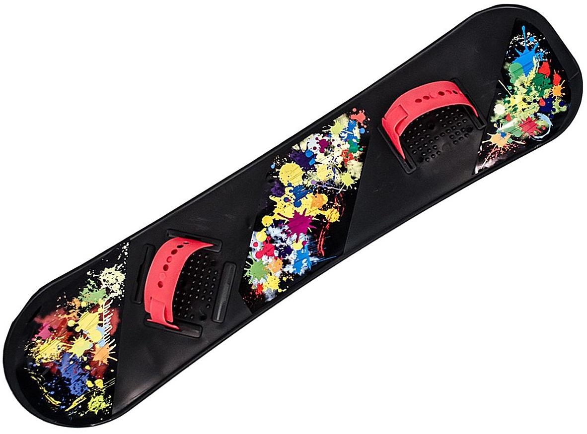 Детский сноуборд черныйВатрушки и ледянки<br>Детский сноуборд черный<br>