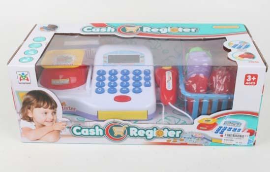 Купить Игровой набор с аксессуарами - Кассовый аппарат LS820A17, свет и звук