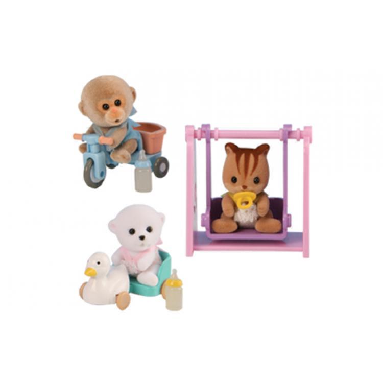 """Набор Sylvanian Families """"Младенец в пластиковом сундучке» от Toyway"""