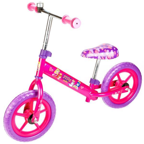 Беговел – Filly, розово-фиолетовый с EVA колесами, рама AK-типаЛошадки Филли Filly Princess<br>Беговел – Filly, розово-фиолетовый с EVA колесами, рама AK-типа<br>