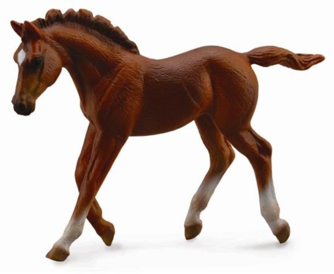 Collecta Фигурка - Жеребец каштановый, бегущийЛошади (Horse)<br>Collecta Фигурка - Жеребец каштановый, бегущий<br>