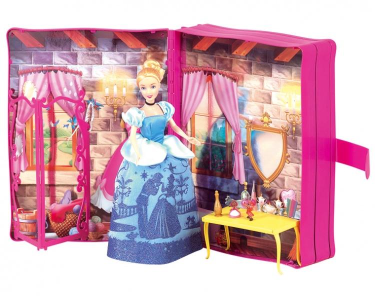 Книга-декорация Золушка с игровыми аксессуарамиКукольные домики<br>Книга-декорация Золушка с игровыми аксессуарами<br>