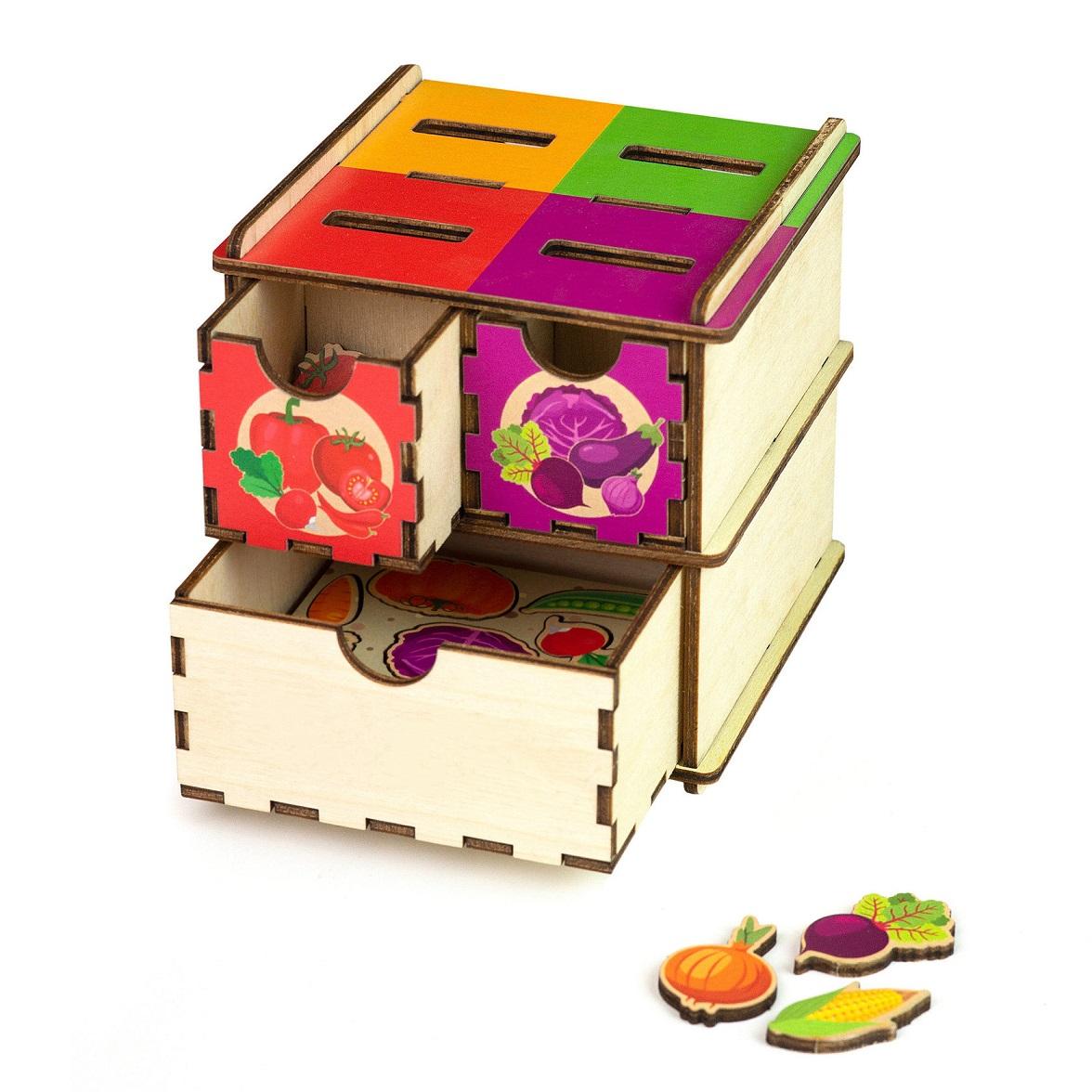 Купить Сортер деревянный – Овощи, Paremo