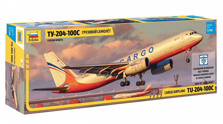 Модель сборная Ту-204-100С фото