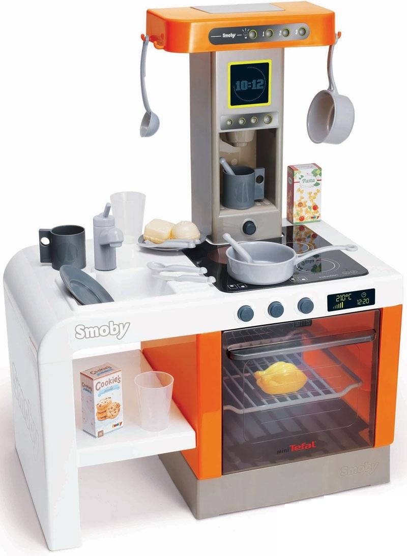 Купить Детская электронная кухня Tefal Cheftronic, свет, звук, Smoby