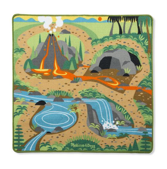 Купить Игровой коврик Динозавры, Melissa&Doug