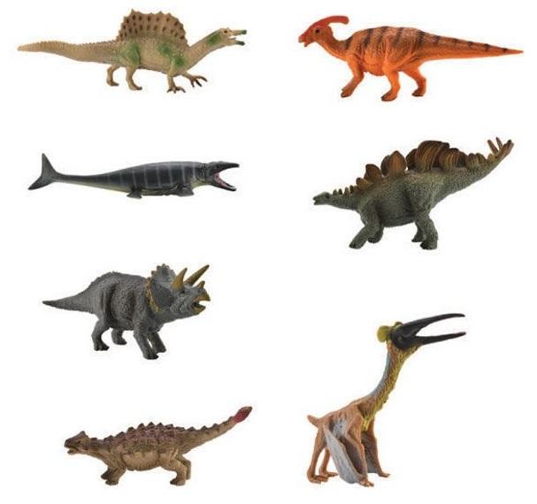 Купить Набор мини динозавров - Коллекция 1, Collecta Gulliver