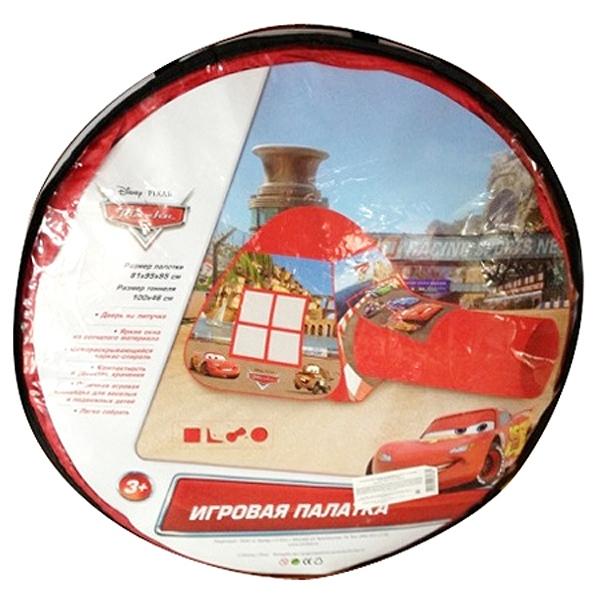 Детская игровая палатка из серии Тачки 2 с тоннелем, в сумке sim) - CARS 3 (Игрушки Тачки 3), артикул: 171480
