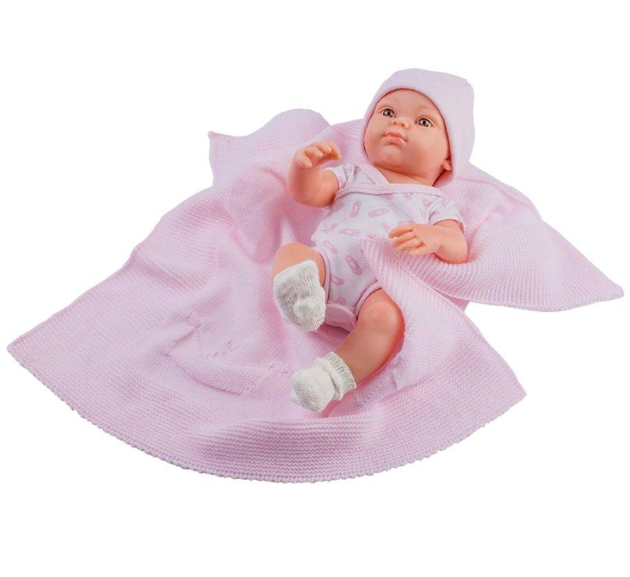 Купить Кукла Бэби с розовым пледом, 32 см, Paola Reina