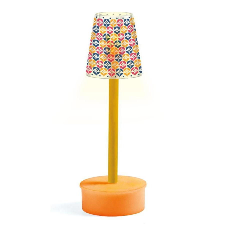 Купить Мебель для кукольного дома – Торшер, свет, Djeco
