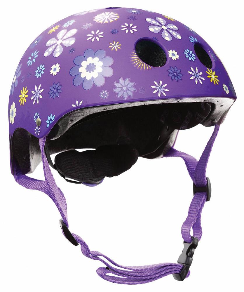 Купить Шлем - Globber Printed Junior, XXS/XS, 48-51 см, фиолетовый