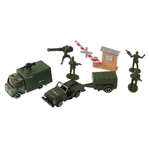 Купить Игровой набор военной техники с 3 солдатиками, Wincars
