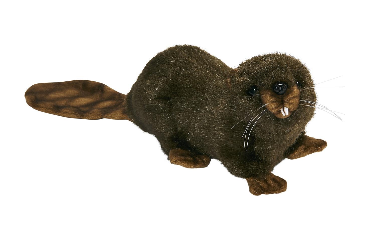 Мягкая игрушка – Бобер, 20 смДикие животные<br>Мягкая игрушка – Бобер, 20 см<br>