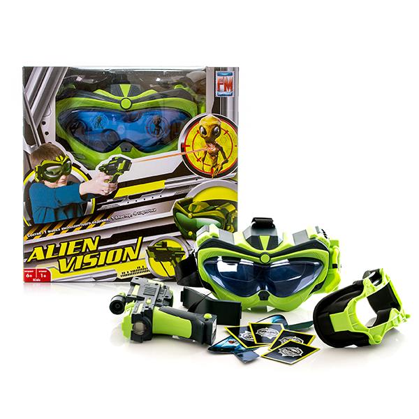 Интерактивная игра  Alien Vision, с маской и бластером - Игрушки из рекламы, артикул: 142484