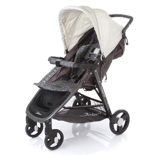 Коляска прогулочная Lugano с чехлом для ножек и капюшоном, бежеваяДетские коляски Capella Jetem, Baby Care<br>Коляска прогулочная Lugano с чехлом для ножек и капюшоном, бежевая<br>