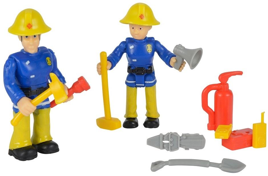 Купить Набор из 2 фигурок и аксессуаров из серии Пожарный Сэм, 7, 5 см., 4 вида, Simba