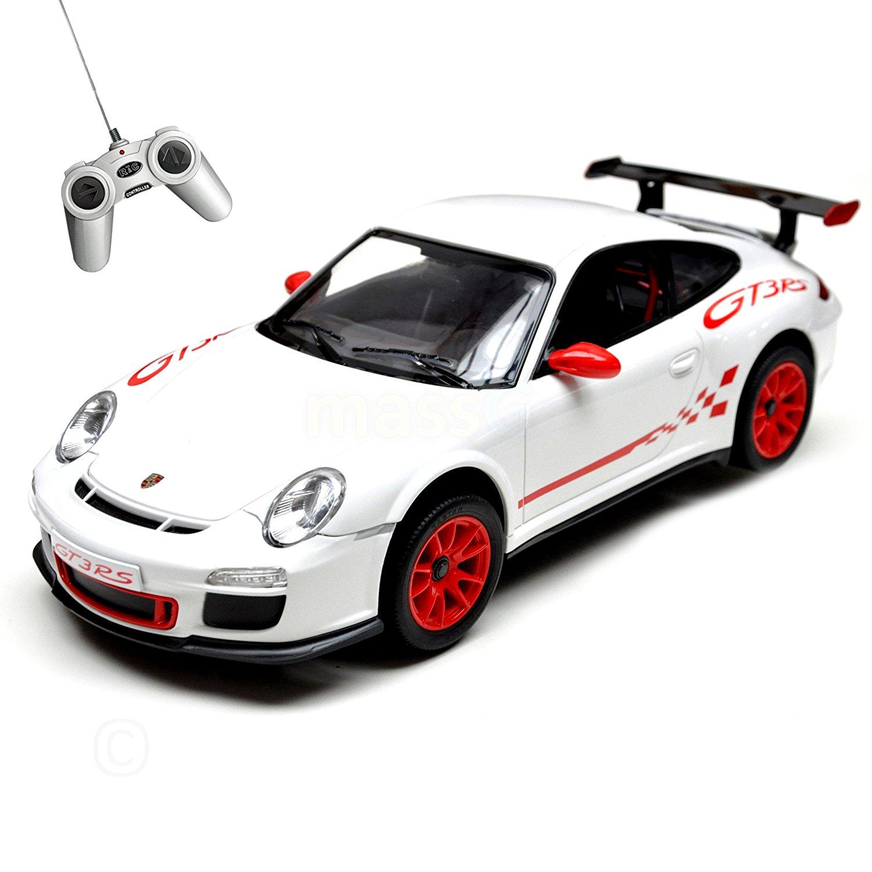 Купить Машина на р/у - Porsche GT3 RS, белый, 1:24, 18 см, Rastar