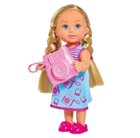 Купить Кукла Еви с аксессуаром, 12 см., 3 вида, Simba