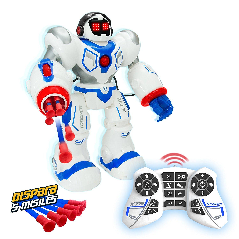 картинка Робот на р/у Xtrem Bots – Штурмовик, свет и звук от магазина Bebikam.ru