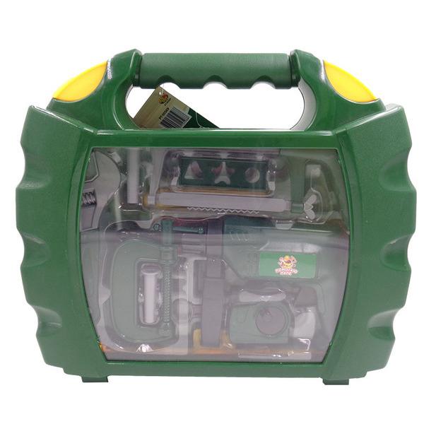 Помогаю Папе - Набор инструментов в чемодане, 22 предметаДетские мастерские, инструменты<br>Помогаю Папе - Набор инструментов в чемодане, 22 предмета<br>