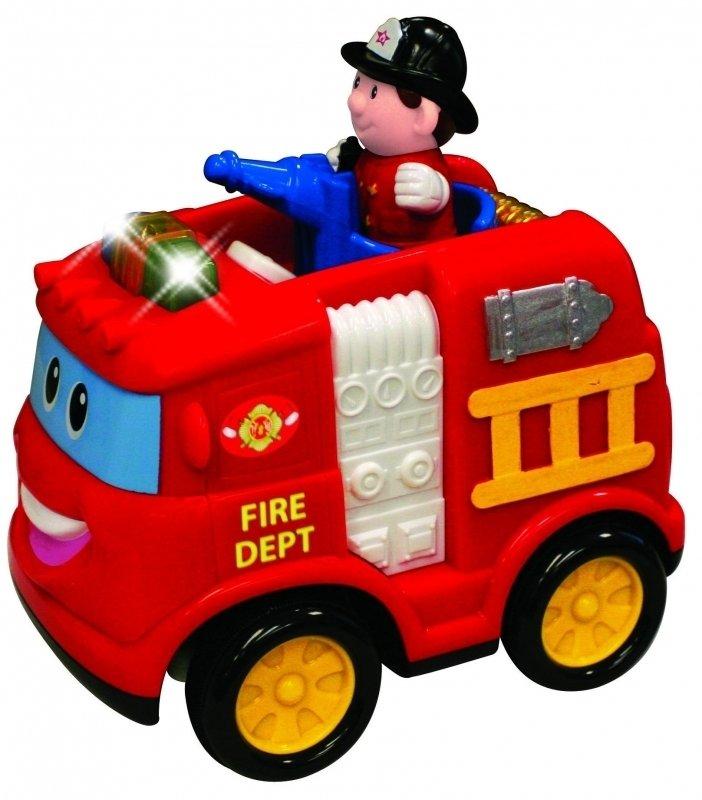 Развивающая игрушка «Пожарная машина» на радиоуправлении - Игрушки на дистанционном управлении, артикул: 116414