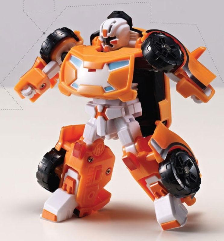 Трансформер Mini Tobot X, с наклейками от Toyway