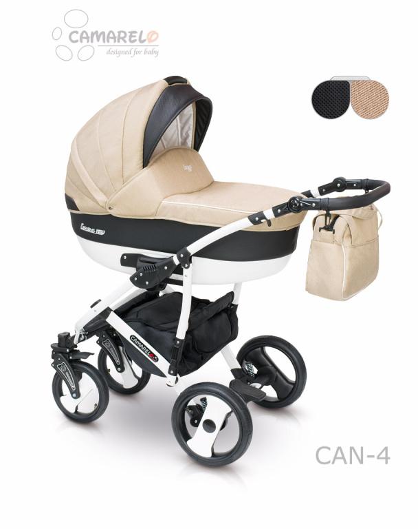 Купить Детская коляска Camarelo Carera New 2 в 1, бежевая
