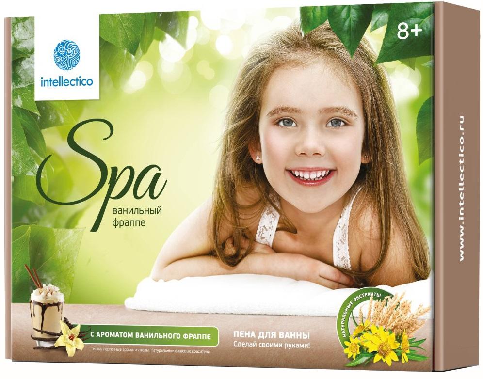 Купить Набор «Сделай своими руками» - Пена для ванны «Ванильный фраппе», с ароматом ванили, Intellectico