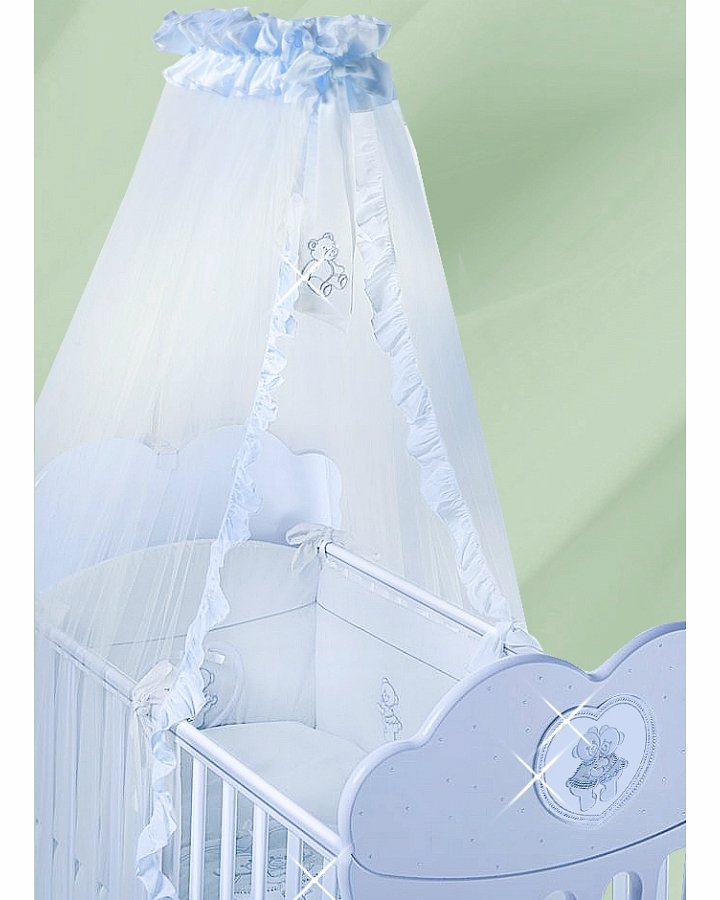 Балдахин из серии Velo Chaton AzzurroДетское постельное белье<br>Балдахин из серии Velo Chaton Azzurro<br>