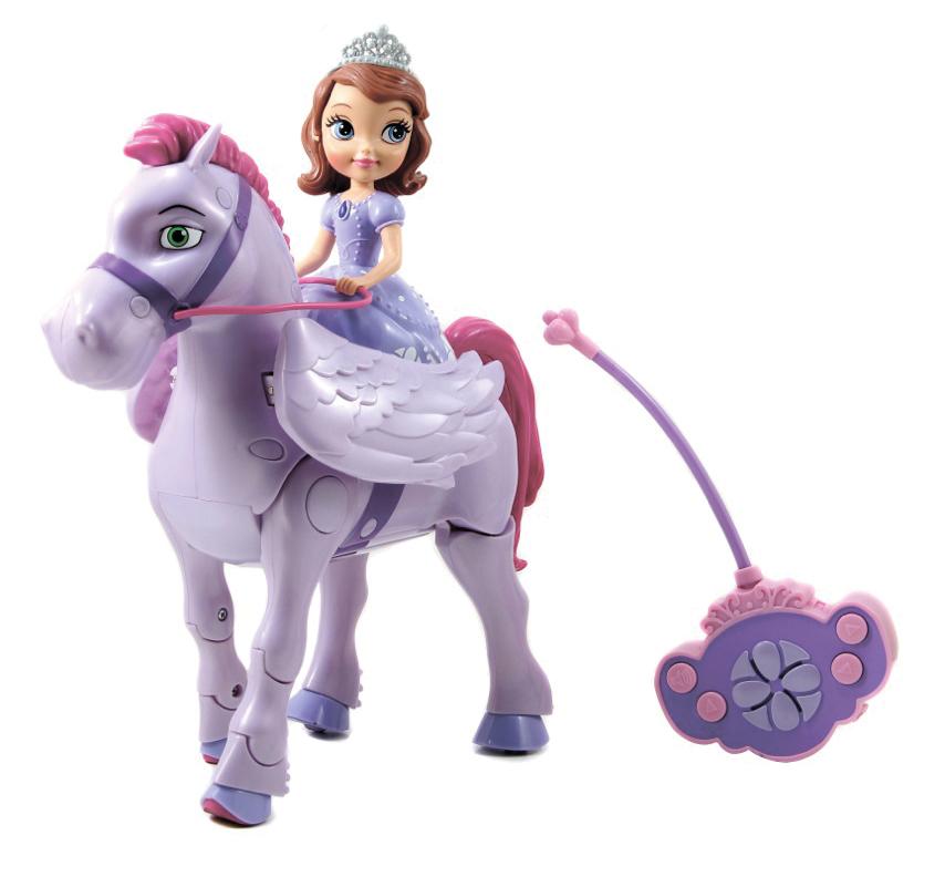 Конь Минимус на радиоуправлении с куклой Софией ПрекраснойСофия Прекрасная<br>Конь Минимус на радиоуправлении с куклой Софией Прекрасной<br>