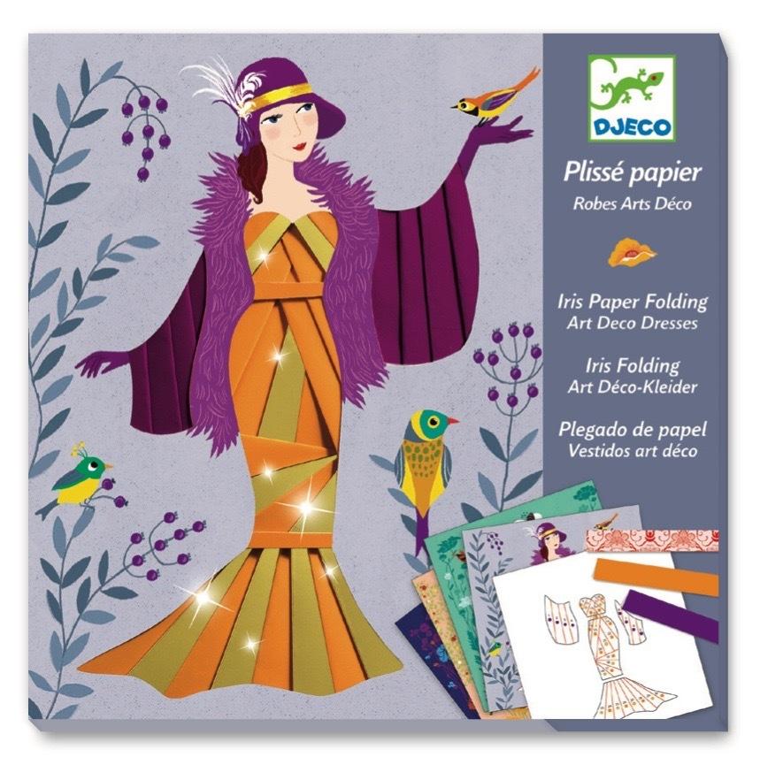 Купить Набор для творчества Бумажный декор – Платья, Djeco