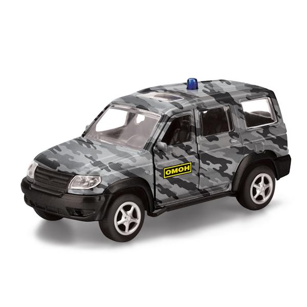 Машина металлическая инерционная - Уаз Патриот – ОМОНУАЗ<br>Машина металлическая инерционная - Уаз Патриот – ОМОН<br>