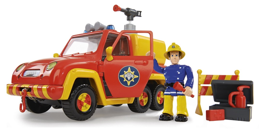 Игровой набор  Пожарный Сэм  Машина  Венус со звуком и функцией воды - Пожарный СЭМ, артикул: 142011