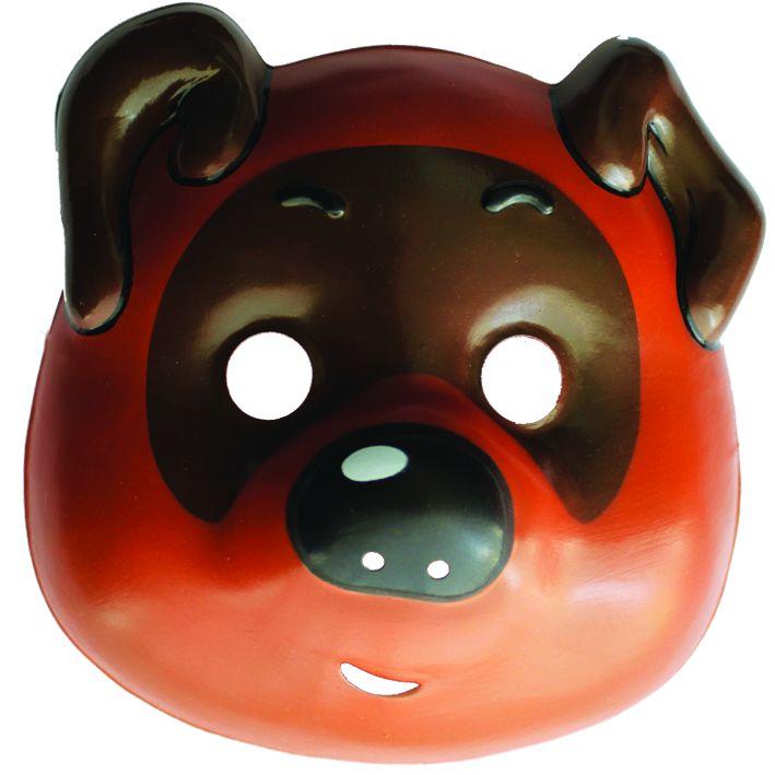 Маска Винни-ПухКарнавальные маски и колпаки<br>Маска Винни-Пух<br>