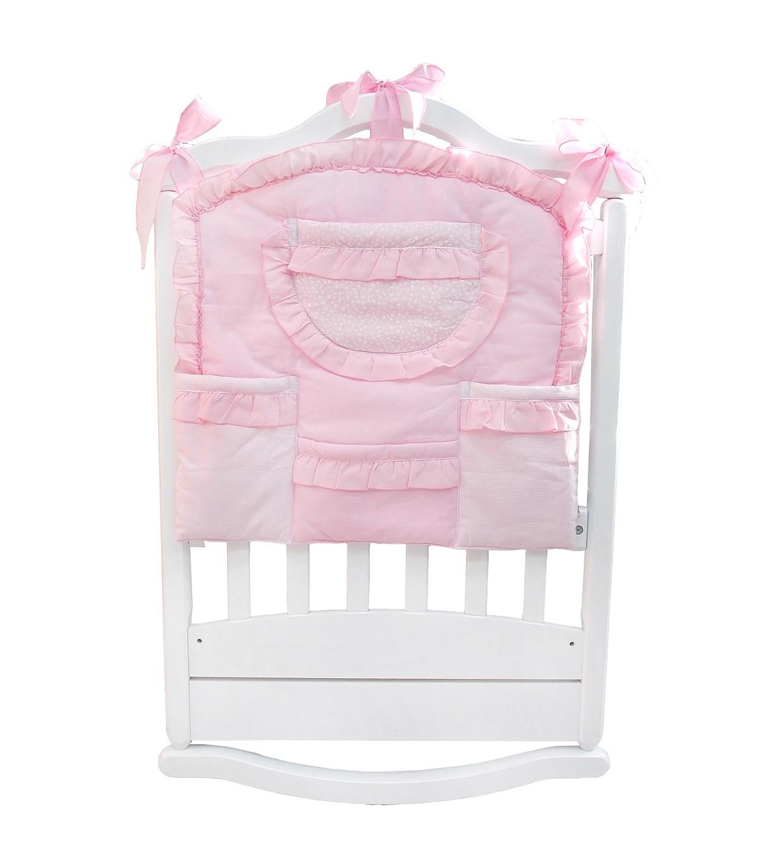 Купить Карман на кроватку Светик, цвет – розовый, Bombus