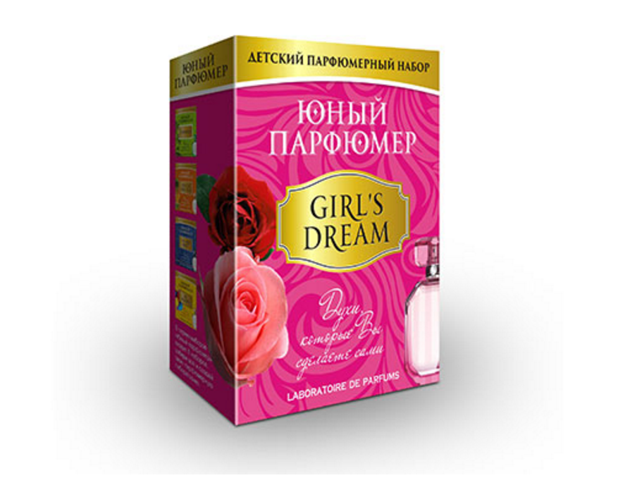 Набор - Юный Парфюмер - Девичьи мечтыЮный парфюмер<br>Набор - Юный Парфюмер - Девичьи мечты<br>
